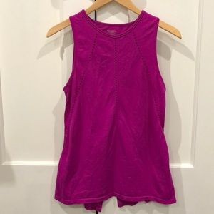 Preowned Athleta Plum Foothill Tank XS fits Small